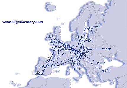 Letecká mapa- EU